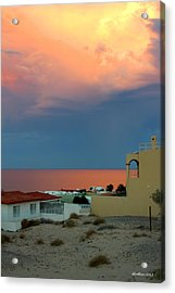 Sunset On The Sea Of Cortez Acrylic Print