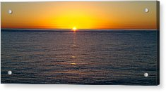 Acrylic Print featuring the photograph Sunset Over Baja by Atom Crawford