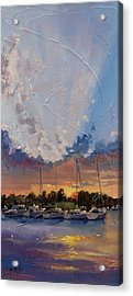 Sunset Over Bay Point Acrylic Print
