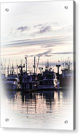 Sunset Over Bellingham Bay Acrylic Print