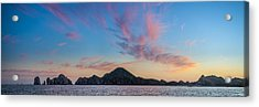Acrylic Print featuring the photograph Sunset Over Cabo by Sebastian Musial