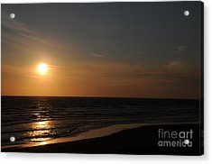 Sunset Over Calm Waters Acrylic Print