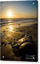 Sunset Over Christchurch Bay Acrylic Print by OUAP Photography