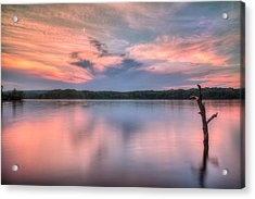 Sunset Over Cootes Acrylic Print by Craig Brown