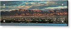 Sunset Over Havasu Acrylic Print
