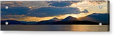 Sunset Over Lake Pend Oreille Acrylic Print by Marie-Dominique Verdier