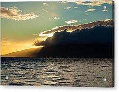 Sunset Over Lanai   Acrylic Print