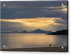 Sunset Over Lewis Acrylic Print