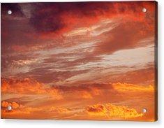 Sunset Over Loughrigg Acrylic Print