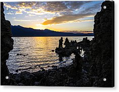 Sunset Over Mono Lake Acrylic Print