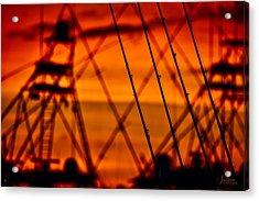 Sunset Over Sailfish Acrylic Print