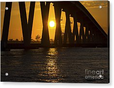 Sunset Over Sanibel Island Photo Acrylic Print