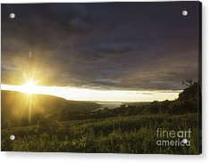 Sunset Over Skaneateles Acrylic Print