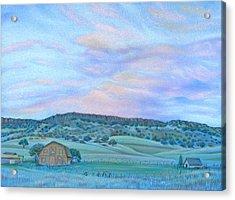 Sunset Over Table Mountain Acrylic Print
