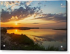Sunset Over The Sucker River Acrylic Print