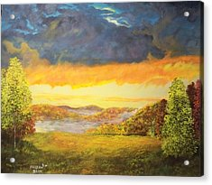 Back Road Ohio Acrylic Print