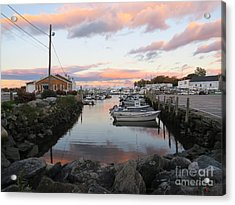 Sunset Over Wickford Acrylic Print