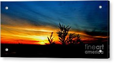 Sunset Overlooking Pacifica Ca IIi Acrylic Print by Jim Fitzpatrick