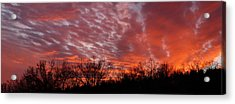 Sunset Panorama Acrylic Print