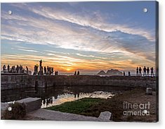 Sunset Party Acrylic Print by Kate Brown