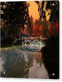 Sunset Perfected Acrylic Print
