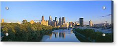 Sunset, Philadelphia, Pennsylvania Acrylic Print