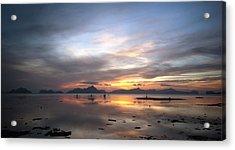 Sunset Philippines Acrylic Print