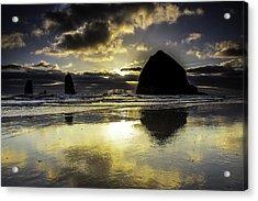 Sunset Reflected Acrylic Print