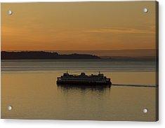 Sunset Sail Acrylic Print by Stephen Prestek