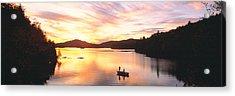 Sunset Saranac Lake Franklin Co Acrylic Print