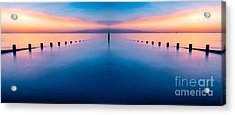 Sunset Seascape IIi Acrylic Print by Adrian Evans