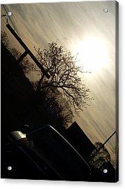 Sunset Silhouette Acrylic Print by Kiara Reynolds