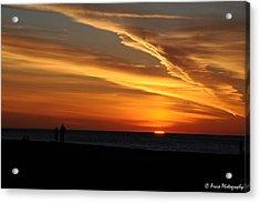 Sunset Sliver Acrylic Print