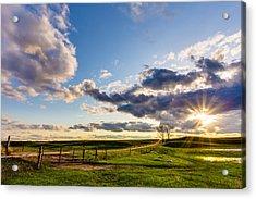 Sunset Sonata Acrylic Print