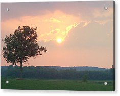 Sunset Sorbet Acrylic Print