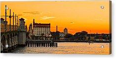 Sunset St. Augustine Acrylic Print