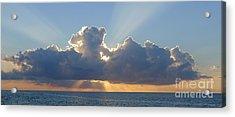 Sunset St. Lucia IIi Acrylic Print