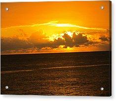 Sunset  Acrylic Print by Stephanie Francis