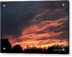 Acrylic Print featuring the photograph Sunset Streaks by Luther Fine Art