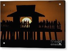 Sunset Supervisors Acrylic Print