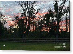 Sunset Texas Acrylic Print