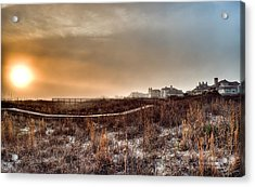 Sunset Through The Fog Acrylic Print