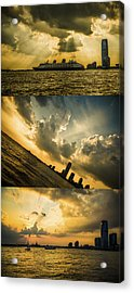 Sunset Trilogy Acrylic Print