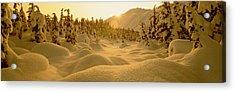 Sunset, Turnagain Pass, Alaska, Usa Acrylic Print by Panoramic Images