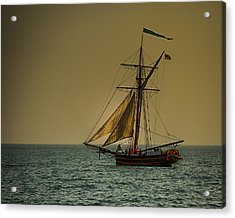 Sunset Voyage Acrylic Print