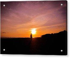 Sunset Walk Acrylic Print by Nicklas Gustafsson