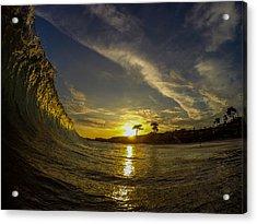 Sunset Wall Acrylic Print