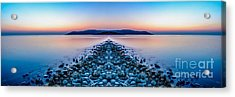 Sunset Way Acrylic Print by Adrian Evans