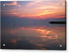 Sunset Whalehead Club Acrylic Print