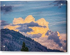 Sunset With A Smile Acrylic Print by Omaste Witkowski
